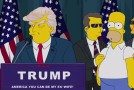Video: Los Simpson se burlan de Donald Trump