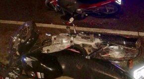 Mueren tres motociclistas en accidente carretero